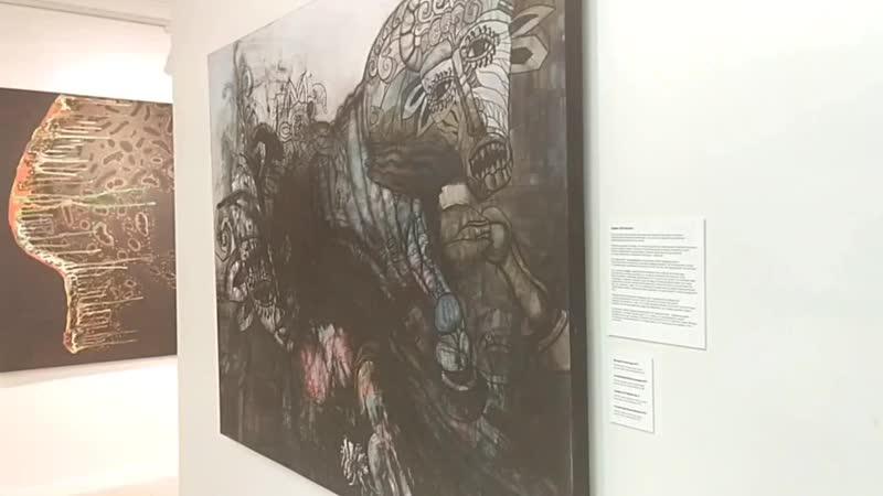 Сергей Орлов выставка ПОРТАЛЫ галерея Бизон Казань 2020
