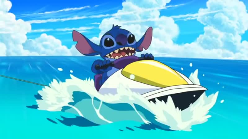 Стич! 4 Сезон 1 Серия Спешл - Stitch and the Planet of Sand