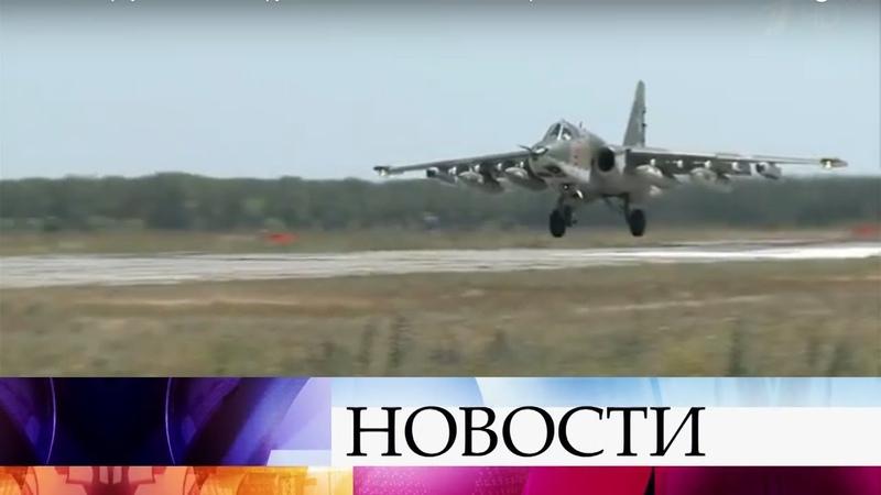 В Россию вернулась большая группа военных самолетов из сирийского Хмеймима