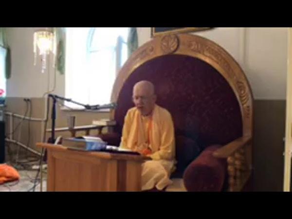 BVV Narasimha Swami, BG 9.29, Khabarovsk, 8.08.2019 (Eng Rus)