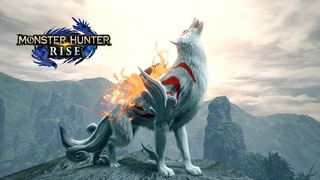 Monster Hunter Rise - Okami Collab