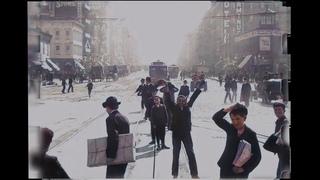 A Trip Down Market Street, 1906 - 4k, Colorized, 60fps