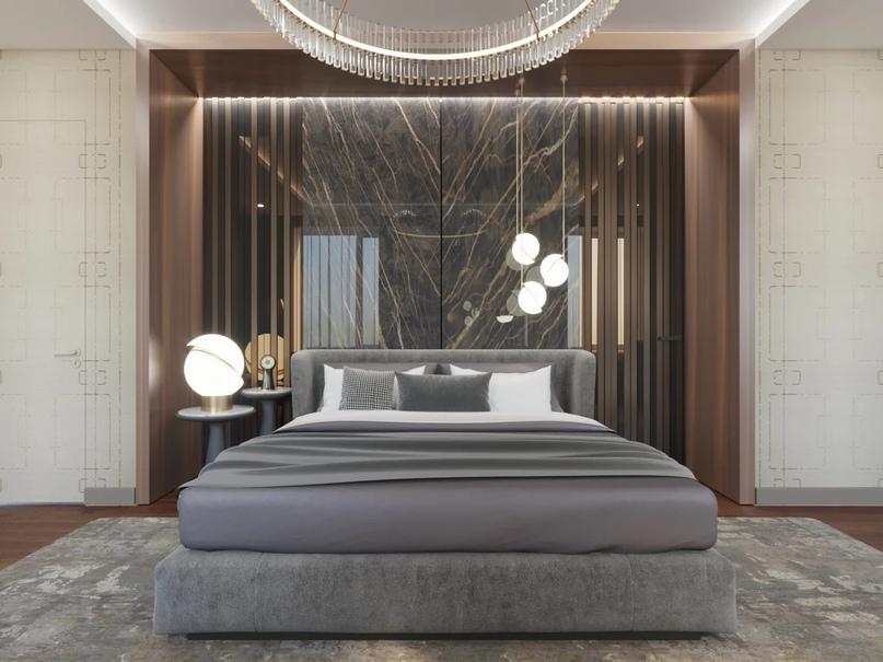 Стена за изголовьем кровати 2 шт 800х2400мм.