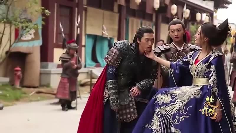 Легенда о Чу Цяо Видео со съемок 7