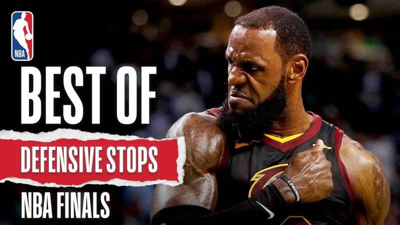 Лучшие моменты защиты в краске в финалах НБА за последние пять сезонов