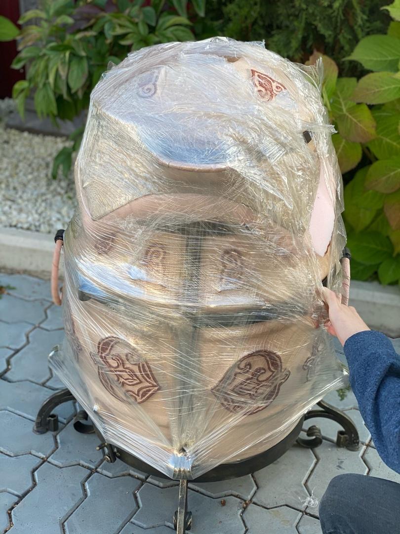 Как фиксируется крышка при запаковке ЭкоТандыров