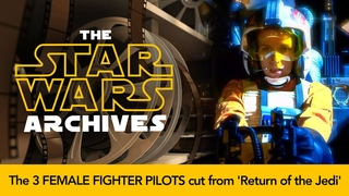 The 3 Female Fighter Pilots Cut From 'Return of The Jedi'