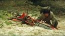Джеки Чан на мотоцикле. Мото сцена из фильма Доспехи бога. Часть 1. Honda CR500