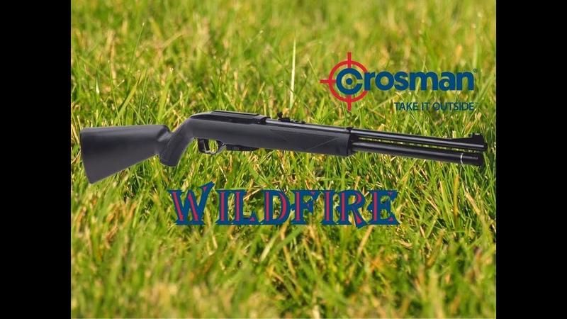 Обзор Review Crosman Benjamin Wildfire PCP Rifle Cal 4 5mm