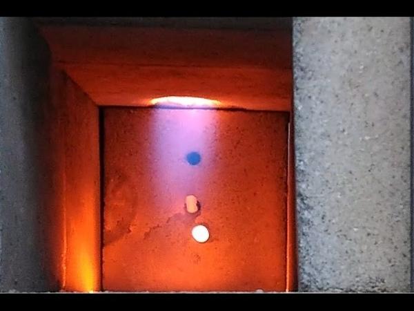 Инжекционная газовая горелка для горна и туннельное сжигание