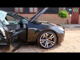 Bmw m6 v8 twin turbo dct automatic for sale in black sapphire london uk