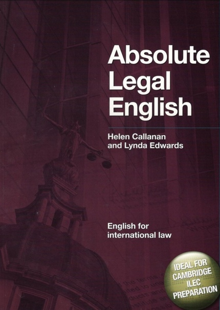 Absolute Legal English Book English for Intern