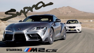 2021 Toyota Supra meets the BMW M2 CS: the Mk4's real successor   Jason Cammisa on the Icons Ep. 01