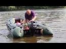 Защита винта и редуктора лодочного мотора с демпфером удара