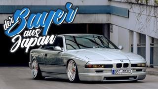 Japanischer 8er BMW auf Luft und Gotti`s. Richards Traum wurde wahr.