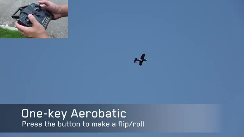 Новый радиоуправляемый самолёт Eachine