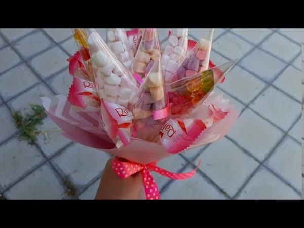 Сладкий букет для девочки Фикси Доставка сладких букетов в Волгограде ДОБРО34 РУ