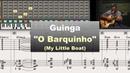 Guinga O Barquinho My Little Boat Virtual Guitar Transcription by Gilles Rea