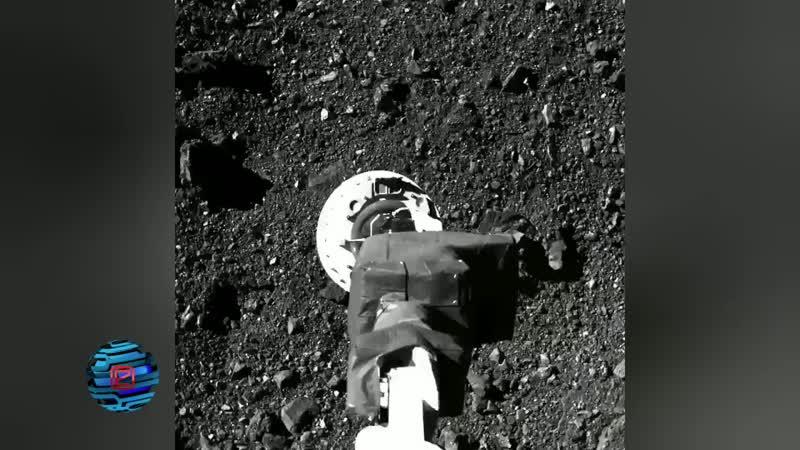 OSIRIS REx на астероиде Бенну
