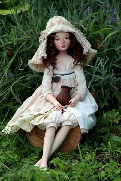 Текстильные куклы Екатерины Ченко Катерина Ченко - талантливый мастер кукол, создатель своих авторских кукол. Чтобы шить таких кукол, Катерина прошла свой путь творческого становления. Первые