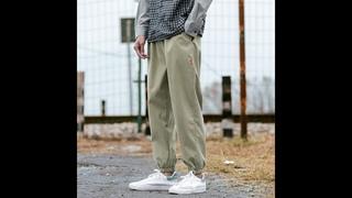 Мужские повседневные однотонные спортивные штаны 2021, мужские повседневные штаны шаровары в стиле хип хоп, уличная одежда,