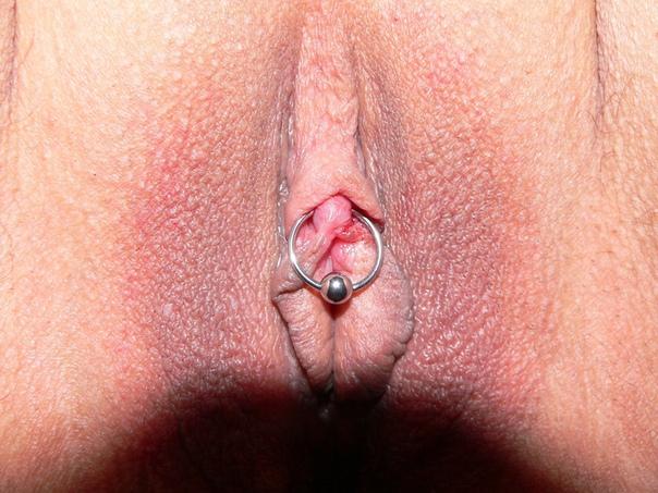 Pierced clit clitoris piercing