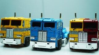 Transformers Optimus Prime Movie Animation Robot Truck Lego Short story & Police Car #трансформеры