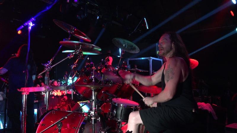 DEICIDE Steve Asheim Drum Cam Los Angeles CA 8 14 2021