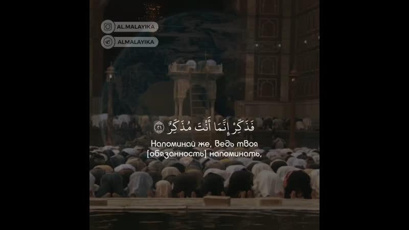 Чтец Abdul Rohman Mosaad Surat « 88 - al Ghashiyah »