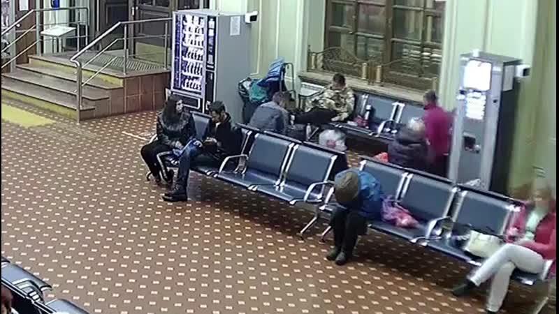 Грабеж на вокзале в Твери