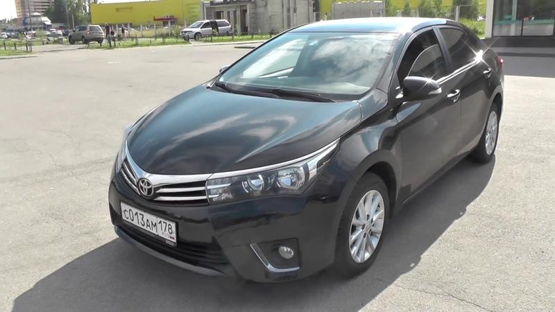 Выбираем б у Toyota Corolla E170 бюджет 750 800тр