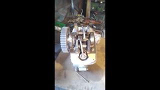 ИЖ планета 4 такта №4 ГРМ самодельного двигателя.