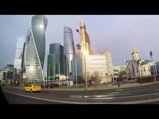 Как просыпается Москва! Как выглядит город в утреннее время! Доброе утро столица!