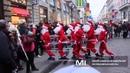 Dancing Santas - Деды отжигают - танцующие Деды Морозы