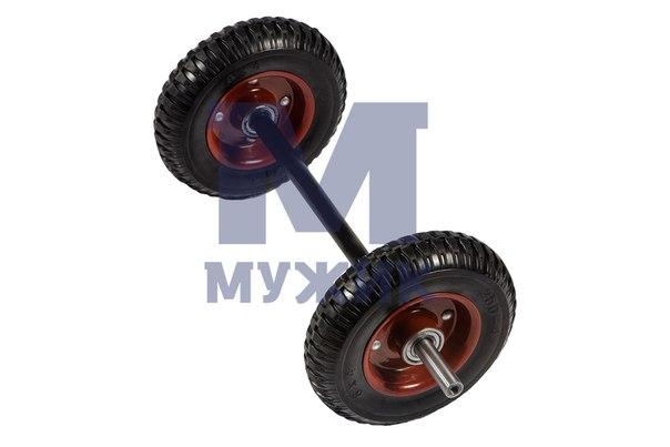 Подвеска на цельно-резиновых колесах – Мужик