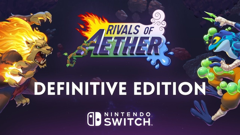 Rivals of Aether Definitive Edition Release Date