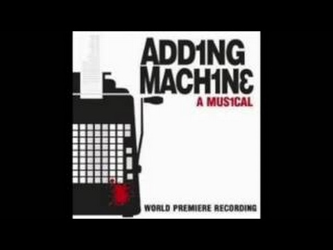 Clifford Morts as Mr. Zero - Adding Machine: A Musical
