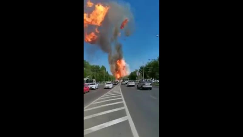 В Волгограде взлетела на воздух газовая заправка