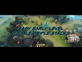 How to STACK and PULL in  — Double/Triple STACK TIMINGS GUIDE Dota 2 NEW
