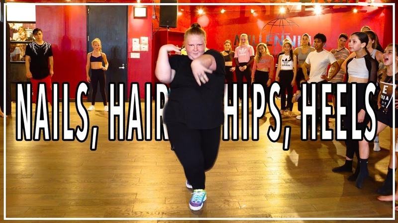 TODRICK HALL Nails Hair Hips Heels Choreography by Blake McGrath