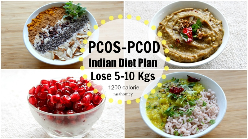 PCOS PCOD Diet Lose Weight Fast 10 Kgs In 10 Days Indian Veg Meal Diet Plan For Weight Loss 4