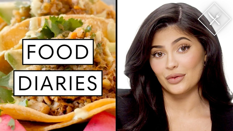 Everything Kylie Jenner Eats in a Day | Food Diaries Bite Size | Harpers BAZAAR