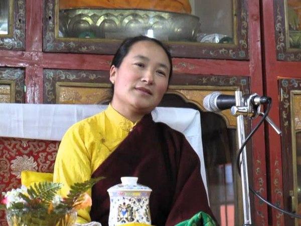 Khadro-la Teaching at Tushita March 9th 2014 - part 1