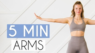 5 MIN TONED ARMS WORKOUT - No Equipment