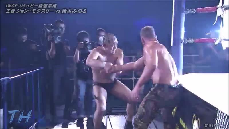 Minoru Suzuki vs Jon Moxley Highlights HD New Beginning in Osaka 2020