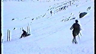 Путешествие в Хибины март 1999 г  Лучшая сборка  ч 5  Восхождени на Палгасвумчорр вершину Ферсмана