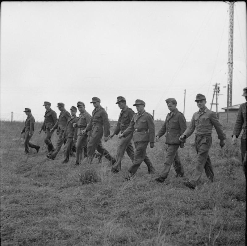 Дания, 1945 год.