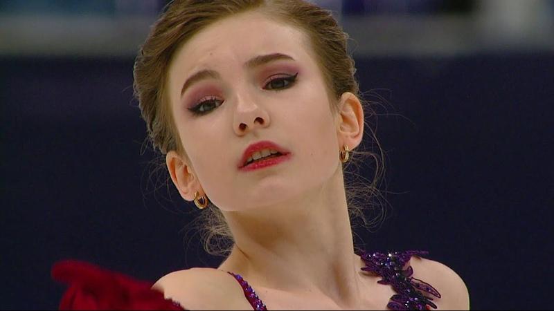 Дарья Усачева Короткая программа Кубок России по фигурному катанию 2020 21 Второй этап