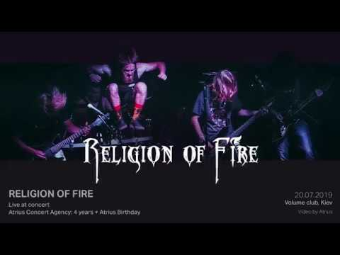 Religion of Fire (Live at Atrius Concert Agency 4 years, 20.07.2019, Volume Club, Kiev)