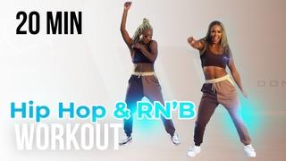 HIP HOP & RN'B WORKOUT | 25 MINUTES | No equipment